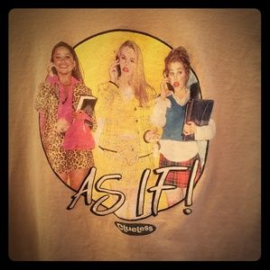 Tops - Clueless Tshirt, as if!